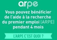 ARPE : aide à la recherche du premier emploi
